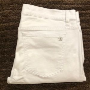 Joe's white cropped jean size 30
